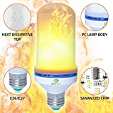 CERVTECH 2018 LED Flame Bulb Led Light flameless Bulb Outdoor Indoor Home Office Hotel Restaurant Christmas Halloween Studio Atmosphere Lighting Decoration 2835 SMD 10 Year Satisfaction Guarantee