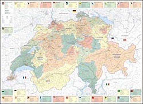 Karte Uk.Schweiz Politische Karte Poster Massstab 1 275000 By