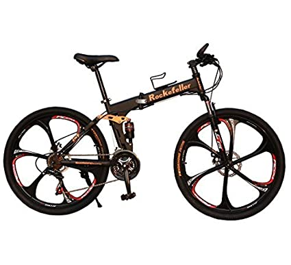 Land Rover Rockefeller Folding Mountain Bike (black)