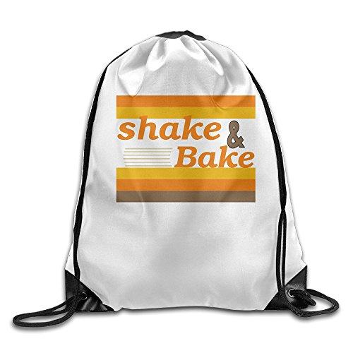 Shake & Bake Drawstring Tote Shoulders Backpack