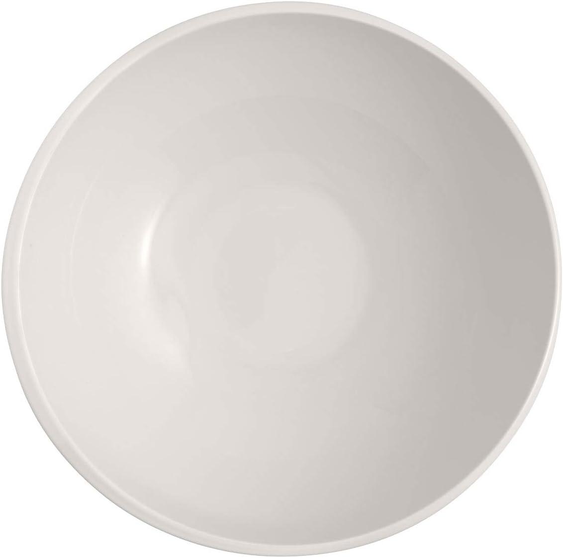salades ou desserts en porcelaine de qualit/é sup/érieure Passe au lave-vaisselle Blanc 750 ml Villeroy /& Boch 10-4264-1900 NewMoon BOL Bol moderne pour c/ér/éales soupes