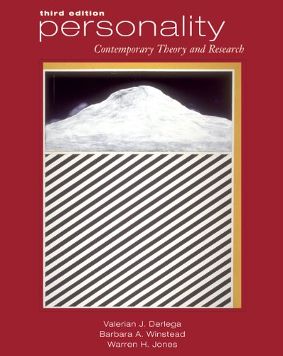 Personality: Contemporary Theory and Research (with InfoTrac)