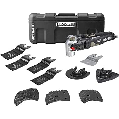 Rockwell RK5141K 4.0A Sonicrafter F50 Kit with Hyper Lock and Universal Fit System, 34-Piece