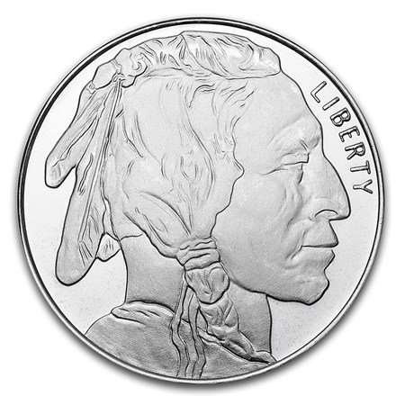 Designs and mintages vary The 1 oz Silver Buffalo Round pays tribute to America's native tribes and the majestic, once endangered buffalo. James Earle Fraser's design for the 1913 Buffalo Nickel has inspired both images featured on this round. Mintma...