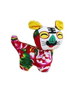 Black Temptation Giocattolo di stoffa creativo per bambini Regali bambole d'arte/regalo di Natale - Tiger # 08