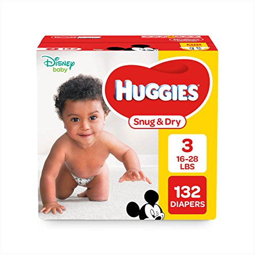 Large Product Image of HUGGIES Snug & Dry Diapers, Size 4, 192 Count (Packaging May Vary)