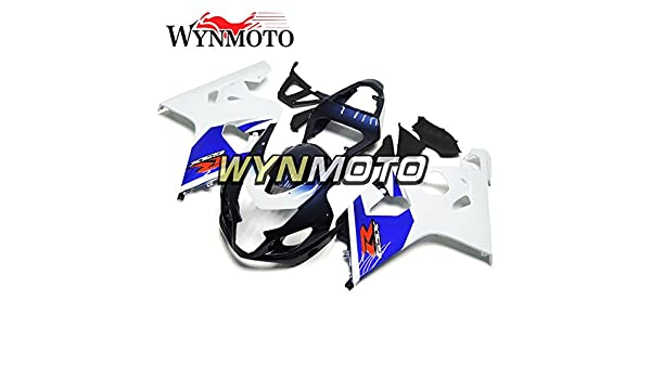 WYNMOTO Motorcycle Body Kit For Suzuki GSXR 600-750 K4 04 05 2004 2005 Sportbike Blue Black Red Decals ABS Plastic Injection Fairings