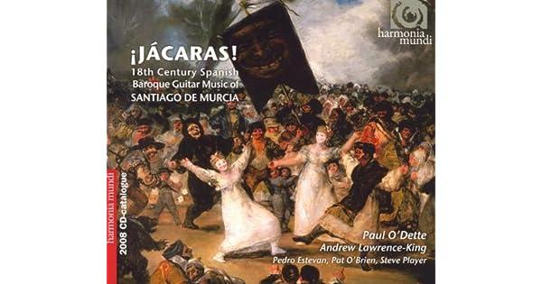 Amazon.com: Jacaras! 18th Century Spanish Baroque Guitar ...