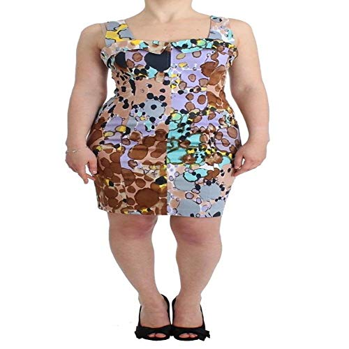 DSORO - Luxury Brands at Wholesale Prices Roccobarocco Multicolor Printed Pencil Dress from DSORO - Luxury Brands at Wholesale Prices