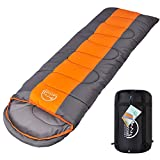 LATTCURE Sleeping Bag, Premium Lightweight Sleeping Bags for Adults, 3-4 Season Sleeping Bags for Camping Hiking Outdoors