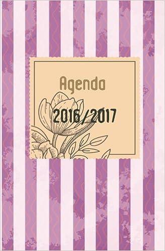 Agenda 2016 2017: interior en blanco y negro: Volume 2 ...