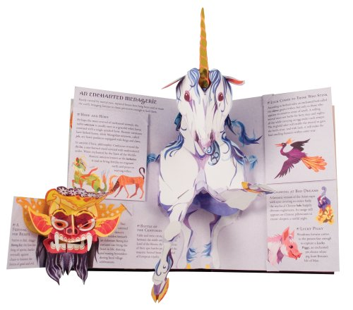 Encyclopedia Mythologica: Fairies and Magical Creatures Pop-Up by Candlewick Press (Image #3)