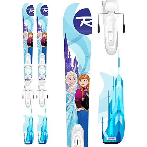 Rossignol Kid's Frozen Skis + Kid-X 4 BindingsLittle Girls' 2019
