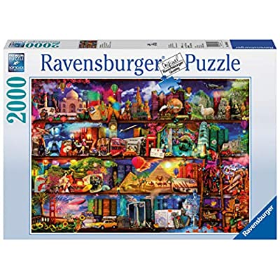 Ravensburger World of Books Puzzle 2000 Piece Jigsaw Puzzle for Adults – Softclick Technology Means Pieces Fit Together Perfectly: Toys & Games