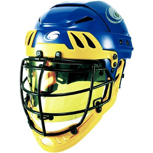Bangerz HS-8000 Men's Lacrosse Helmet Eyeshield - Amber One Size
