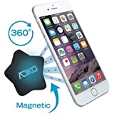 Car Vent Mount Magnetic Cell Phone Holder for Iphone 6 /6s Plus 6/6s,Plus/5/5s/5c, Samsung Galaxy S6 /S5/S4, Note 4/5, Lg G4/G3, Google Nexus, Any Smartphone or GPS by Adiko