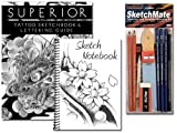 Professional Tattoo Sketch Kit with Flash and Pencils set