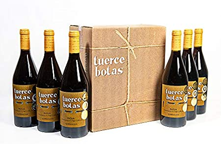 Vino tinto Rioja Tuercebotas Garnacha | 6 Botellas