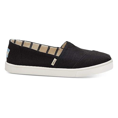 TOMS Heritage Canvas Cupsole Alpargata Slip On Shoes UK 5 Black  Amazon.co. uk  Shoes   Bags b39dd0cdfd26