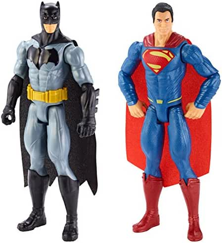 Batman v Superman: Dawn of Justice Batman and Superman Figure 2-pack