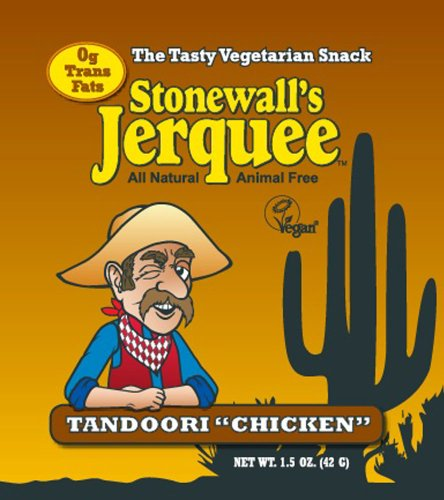 Stonewall's Jerquee, Tandoori Chicken, 1.5-Ounce Packets (Pack of 16)