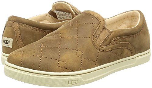 b8929feec01c7 UGG Australia Women's Fierce Deco Quilt Shoe, Chestnut, 7 - Import It ...