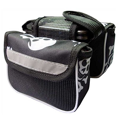 Bicycle Tube Bag Bike Frame Case Top Front Both Sides Cell Phone Pouch(Color Random) by IRISMARU