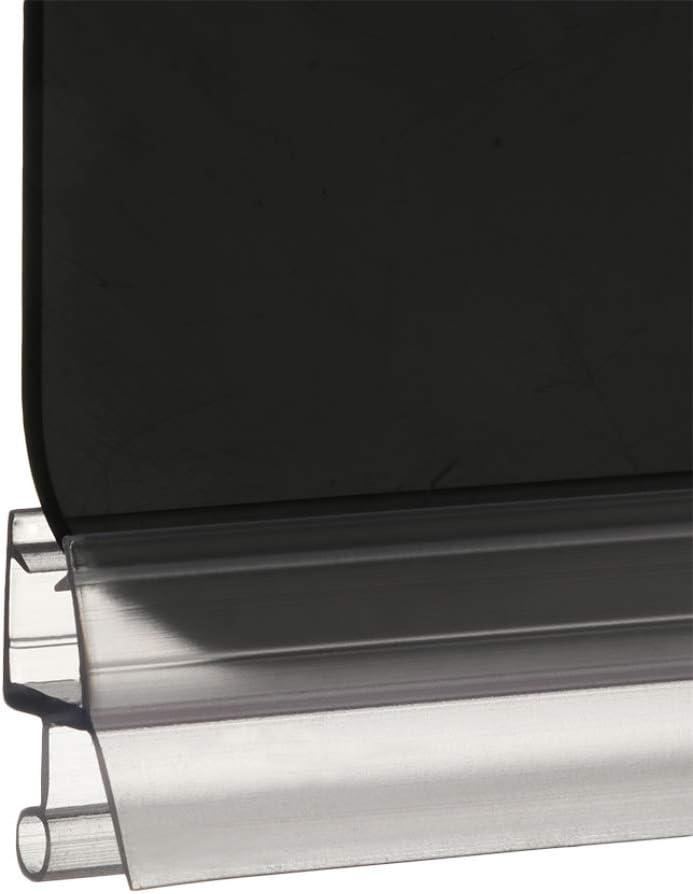 Eco-Friendly Glass Door Weatherstrip Bath Shower Screen Door Seal Strip Seal Gap Window Door Weatherstrip Hardware Easy to Install Cut