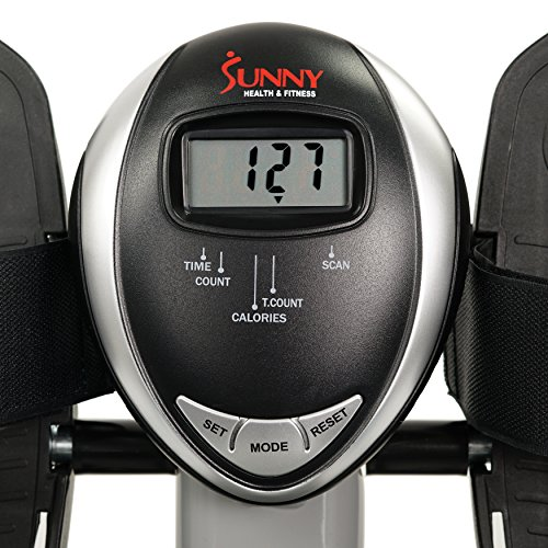 Sunny Health & Fitness SF RW5639 Full Motion Rowing Machine Rower w/ 350 lb Weight Capacity and LCD Monitor
