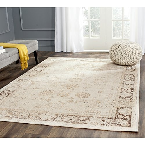 Safavieh Vintage Premium Collection VTG117-440 Transitional Oriental Stone Distressed Silky Viscose Area Rug (2' x (Accents Collection Vintage Rug)