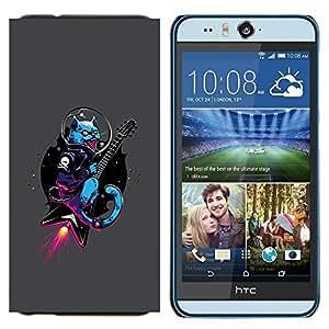 EJOOY---Cubierta de la caja de protección para la piel dura ** HTC Desire Eye M910x ** --Subidas Rocket