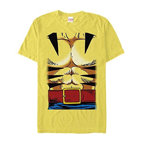 Marvel Men's Halloween X-Men Wolverine Costume T-Shirt