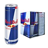 Red Bull Energy Drink, 355 ml, Paquete de 4