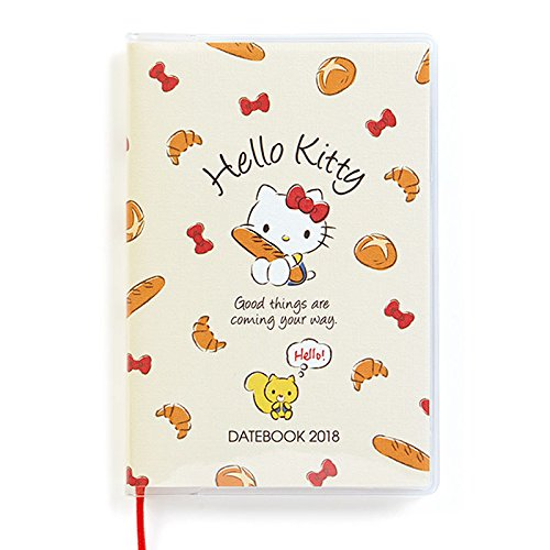 Sanrio Hello Kitty pocket date book 2018 From Japan New