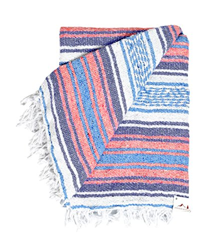 Mexican Blanket Vintage Colors Handmade product image