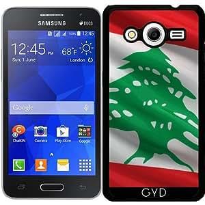 Funda para Samsung Galaxy Core 2 SM-G355 - Bandera De Líbano by Carsten Reisinger