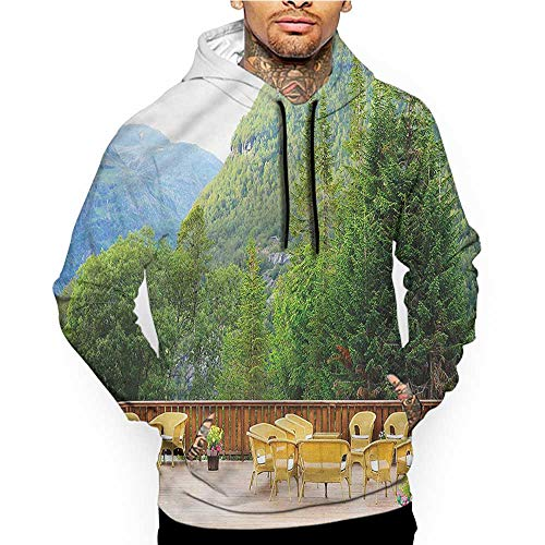 (Hoodies SweatshirtMen 3D Print Teal,Triangles Squares Modern,Sweatshirts for Teens)