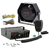 LAMPHUS SoundAlert Siren & Slim Speaker PA System [100W] ...