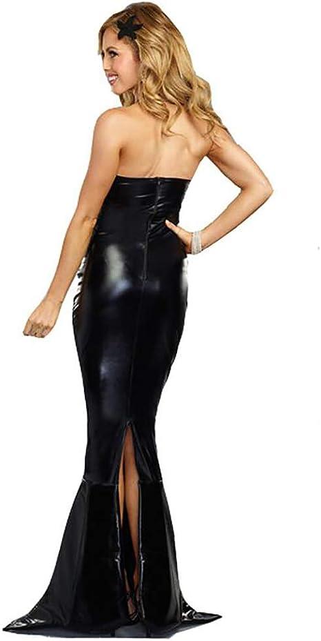 SHANGLY Mujer Halloween Sirena Disfraz Adulto Mascarada Sirena ...