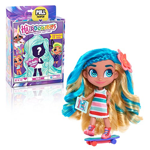 Hairdorables Dolls Hairdorables ‐ Collectible Surprise Dolls and Accessories: Series 1 (Styles May Vary) 1, Multicolor