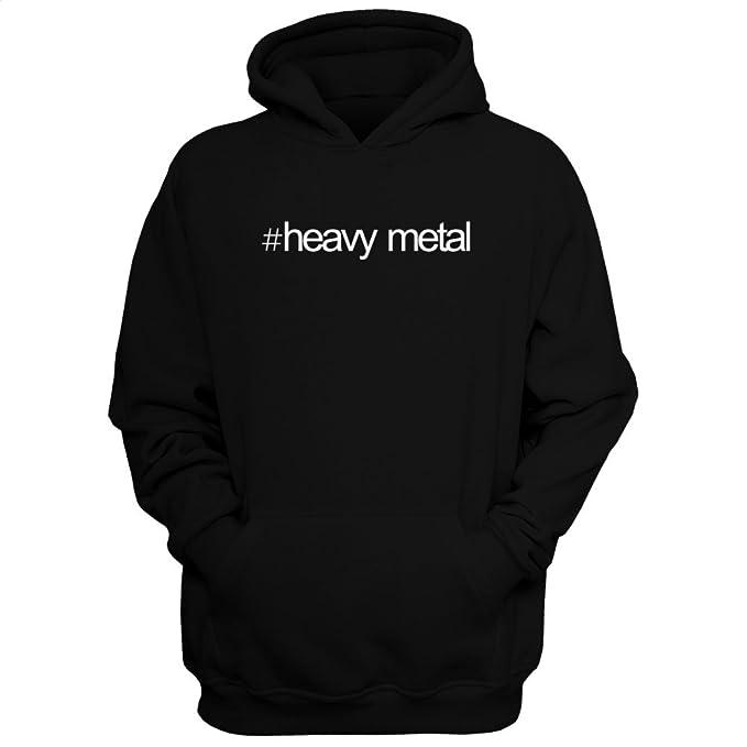 Idakoos Hashtag Heavy Metal - Musica - Sudadera con capucha: Amazon.es: Ropa y accesorios