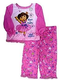 Nickelodeon Toddler Girl Dora The Explorer Sleepwear Set What A Party Pajamas