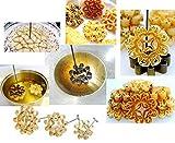 Brass Thai Dessert Kitchenware Mold Lotus Dok Jok