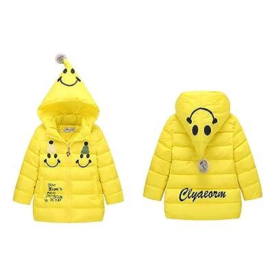 Wxian Children's Smile Lightweight Hooded Down Jacket