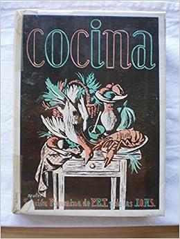 Amazon.com: MANUAL DE COCINA. (RECETARIO).: Ana María ...