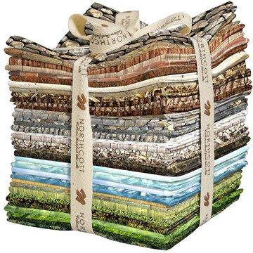 Naturescapes 40 Fat Quarters Northcott by Northcott