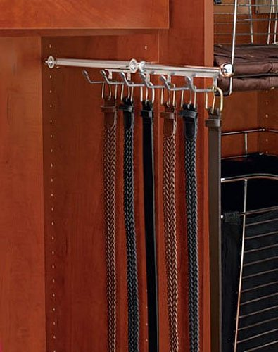 Rev-A-Shelf 14 Belt Scarf Organizer, Chrome CBSR-14-CR