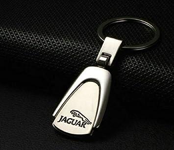 Jaguar de peras haped Deluxe acero inoxidable Logo Llavero ...