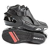 Joe Rocket Velocity V2X Men's Riding Shoes Sports Bike Racing Motorcycle Boots - Black / Size 7