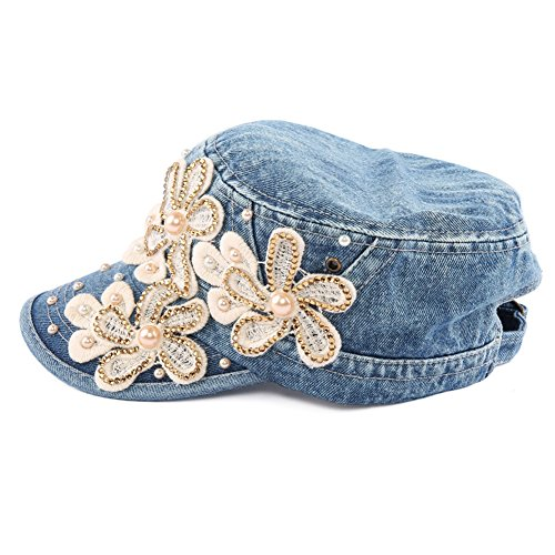 60%OFF Yimidear Female UV Sun Hat Cowboy Hat Lady Summer Outdoor Sports  Visor Cap 08e9cc259bad